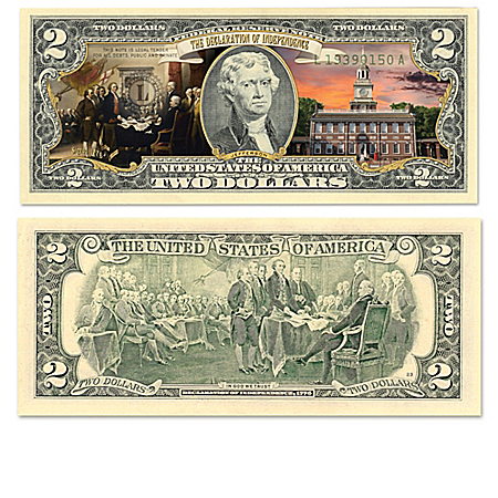 All-New U.S. History Vivid Full-Color  Bills Currency Collection