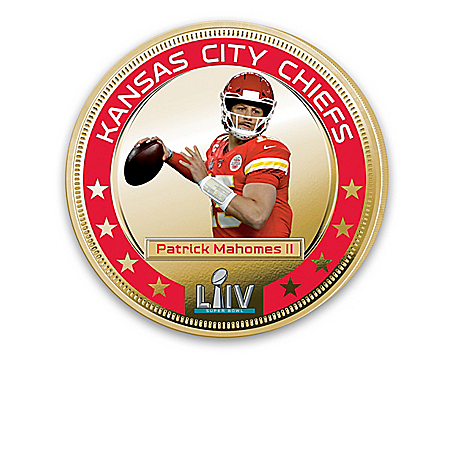 Chiefs Super Bowl LIV Champions Legal Tender Dollar Coins