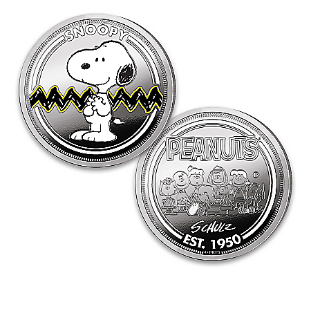 70th Anniversary PEANUTS Silver-Plated Proof Collection