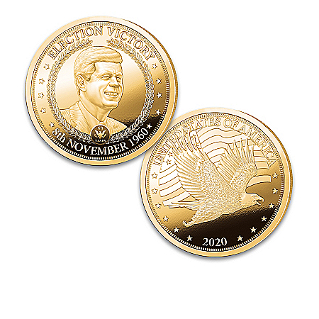 John F. Kennedy Election 60th Anniversary Proof Coins