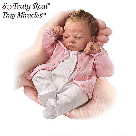 Life Like Baby Dolls So Truly Real Tiny Miracles Miniature Lifelike Baby Doll Collection: Little Ones To Love
