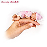 Heavenly Handfuls Collectible Lifelike Miniature Baby Doll Collection