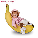 Heavenly Handfuls Li'l Monkey Hugs Collectible Baby Monkey Doll Collection