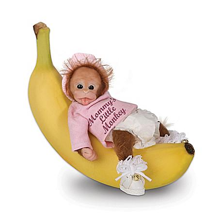 Darlene Austin: Li'l Monkey Hugs Monkey Doll Collection