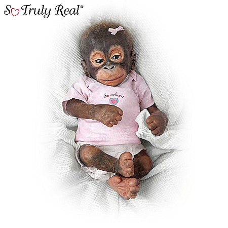 Li'l Bit Of Lovin' Monkey Doll Collection: So Truly Real