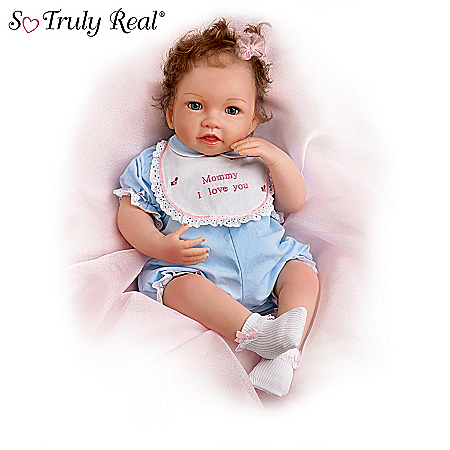So Truly Real Touch-Activated Interactive Baby Doll Collection: Touch Of Love