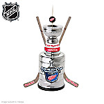 Detroit Red Wings®® Stanley Cup® Champions Trophy Christmas Ornament Collection