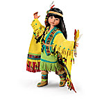 Native American-Inspired Ball-Jointed Doll Collection: Little Dancing Moccasins