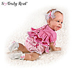 Life Like Baby Dolls Breast Cancer Support Lifelike Baby Doll Collection: Cuties For The Cause