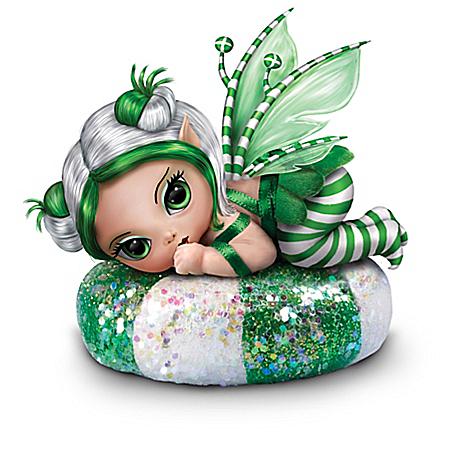 Fantasy Art Miniature Baby Fairy Doll Collection: Fairy Sweet Christmas