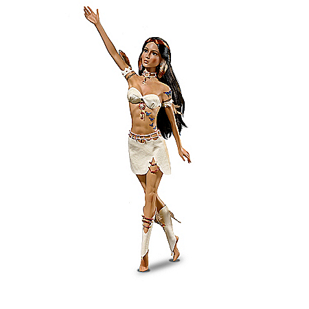 18-1/2 Inch Porcelain Doll Collection With Tribal-Inspired Tattoo Artistry: Thorns Of Love