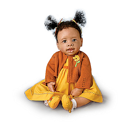 African Religious Musical Baby Doll Collection: Thankful Blessings