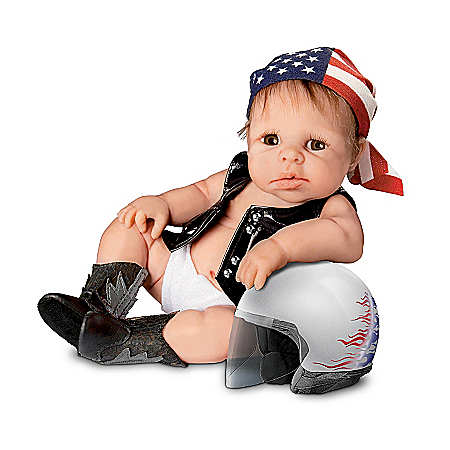 Biker Babies Lifelike Baby Doll Collection