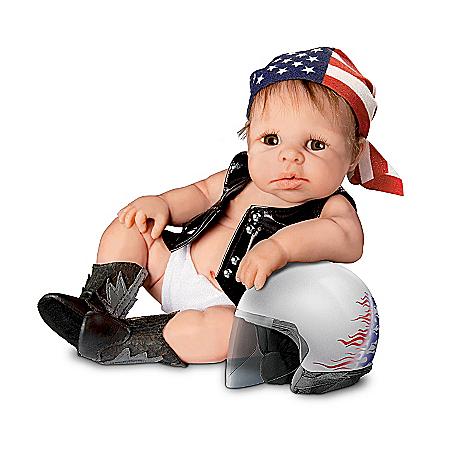 Biker Babies Lifelike Baby Doll Collection