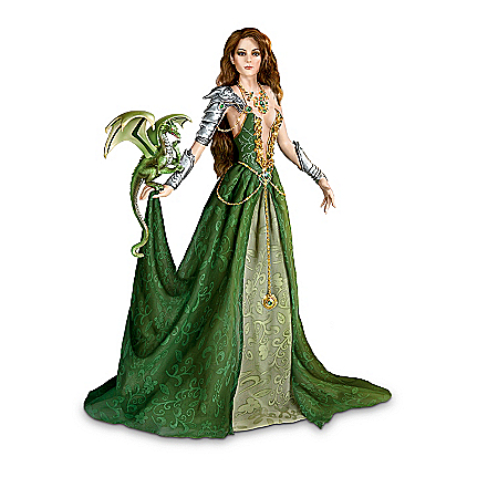 Nene Thomas Enchanted Maidens Of Dragon Lore Fantasy Doll Collection