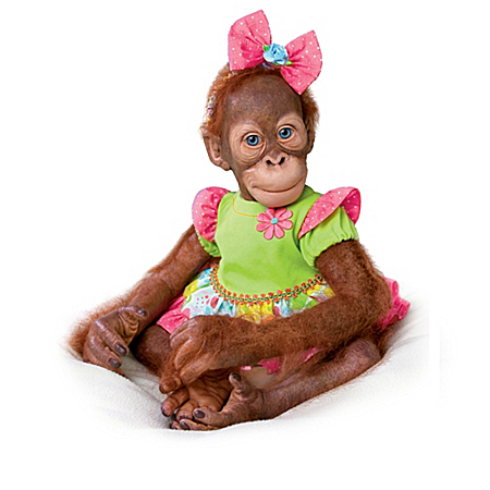 A Day Of Play Orangutan Child Doll Collection