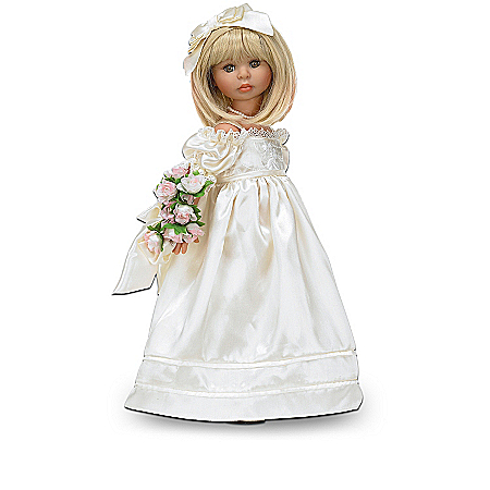 """""""A Sister's Heart Blooms With Love"""" Child Doll Collection"""