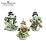Irish Blessings Snowman Christmas Tree Ornament Collection