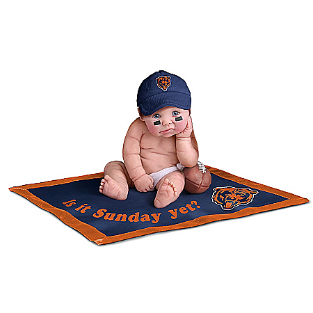 NFL Chicago Bears #1 Fan Baby Doll Collection