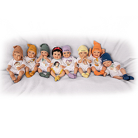 Disney's Snow White And The Seven Dwarfs Miniature Doll Collection