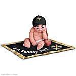 NFL New Orleans Saints #1 Fan Baby Doll Collection