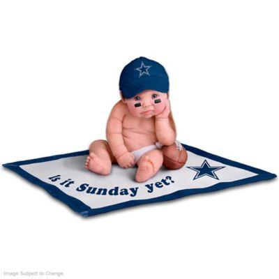 Dallas Cowboys #1 Fan Baby Doll Collection