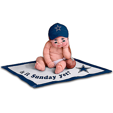 NFL Dallas Cowboys #1 Fan Baby Doll Collection