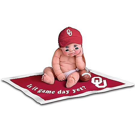 The University Of Oklahoma Sooners #1 Fan Commemorative Baby Doll Collection