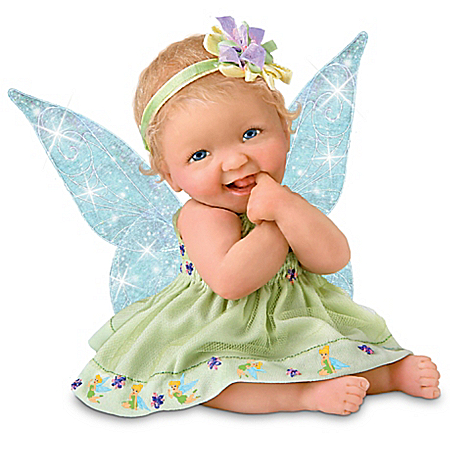 Disney Miniature Tinker Bell-Themed Baby Doll Collection: Precious Pixies