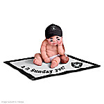 NFL Oakland Raiders #1 Fan Commemorative Baby Doll Collection