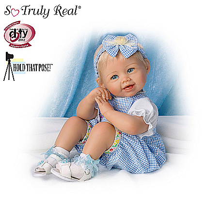 Poseable Realistic Baby Doll Collection: Let's Play!