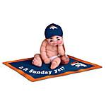 NFL Denver Broncos #1 Fan Commemorative Baby Doll Collection