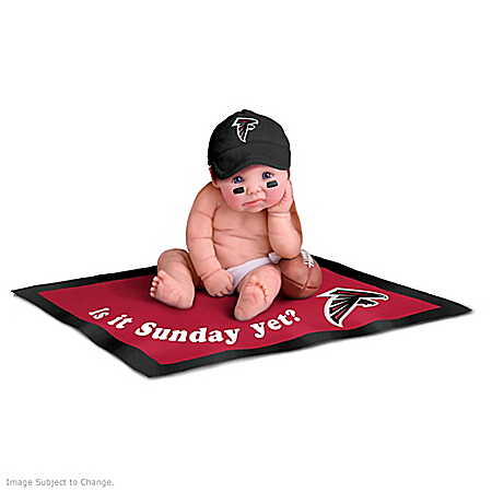 Atlanta Falcons #1 Fan Commemorative Baby Doll Collection