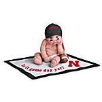 Nebraska Cornhuskers #1 Fan Commemorative Baby Doll Collection