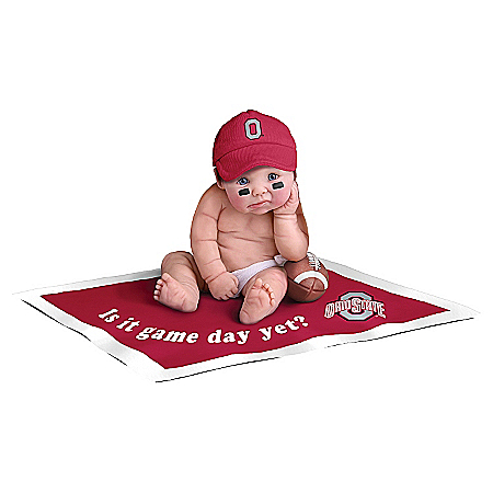 Ohio State Buckeyes #1 Fan Commemorative Baby Doll Collection