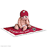 University Of Wisconsin Badgers #1 Fan Commemorative Baby Doll Collection