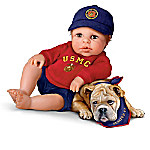 USMC Baby Doll Collection: Lil' Leatherneck Salute