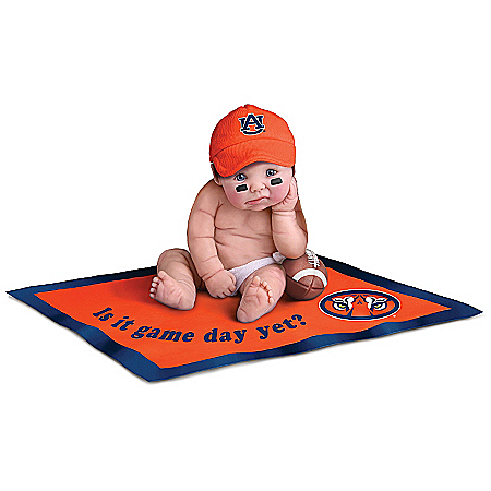 Auburn University Tigers #1 Fan Commemorative Baby Doll Collection