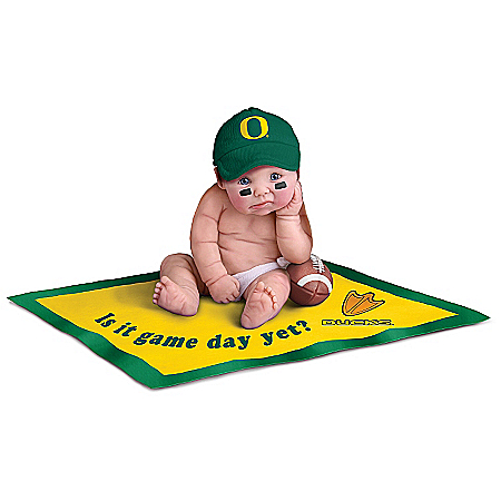 University of Oregon Ducks #1 Fan Commemorative Baby Doll Collection 913824