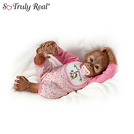 Baby Monkey Doll Collection: Touch Your Heart