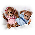 Monkey Dolls: Twice The Fun Baby Doll Collection