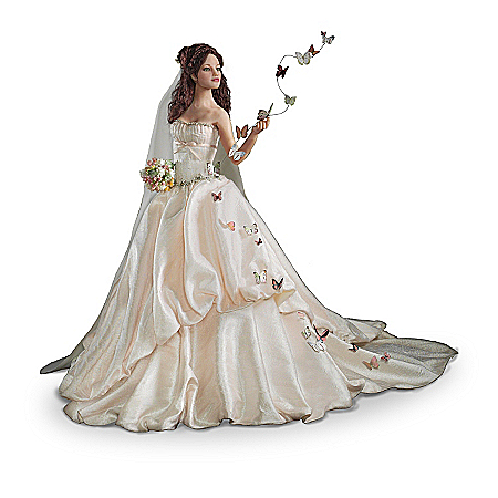 Dolls: Wishes On Wings Of Love Bride Doll Collection