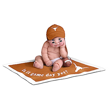 Dolls: Texas Longhorns #1 Fan Baby Doll Collection