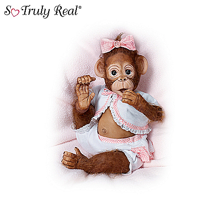 Dolls: As Cute As Can Be So Truly Real Vinyl Monkey Doll Collection