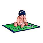 Dolls - Seattle Seahawks #1 Fan Baby Doll Collection