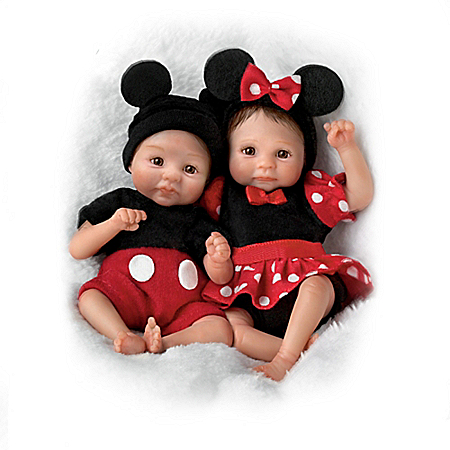 Dawn McLeod Magical Moments With Disney Collectible Baby Doll Collection