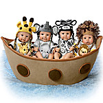Noah's Adorable Ark Miniature Baby Doll Collection By Sherry Rawn