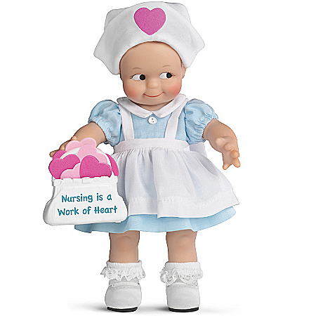 Gifts for Nurses Rose O'Neill Kewtest Nurse Caregivers Child Doll Collection