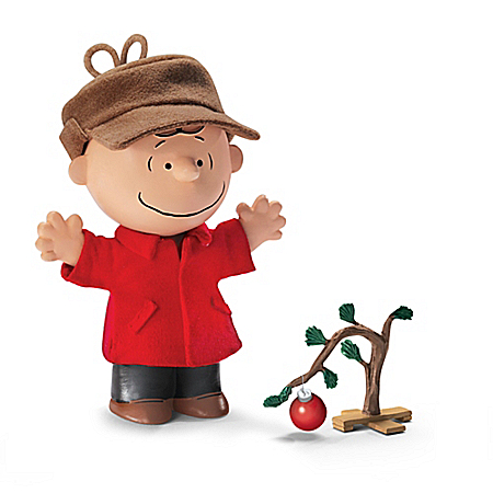 PEANUTS A Charlie Brown Christmas 50th Anniversary Doll Collection by The Bradford Exchange Online - Lovely Exchange