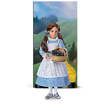 The Wonderful Wizard Of Oz Portrait Doll Collection With Display Cards